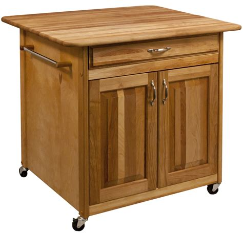 Catskill Kitchen Islands - portable movable kitchen islands rolling on wheels