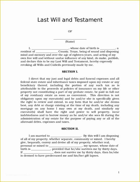 Will testament template free last and living wills testaments 2019 last willnd testament template microsoft word pdf southfrica will free download 39 last will and testament forms & templates. Last Will and Testament Template Maryland Free Of ...