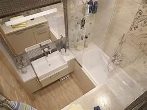 33 idees pour petite salle de bain astuces pratiques couleur for Salle de bain design avec décoration de noel professionnel