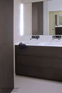 meuble salle de bain chene teinte gris hegenbart With materiau meuble salle de bain