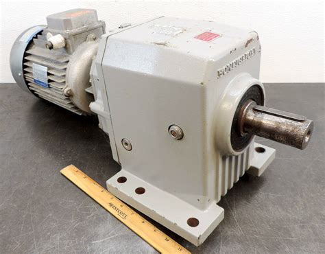 Electric Motor Gearbox by Bonfiglioli 8e56120015 M536945 Electric Motor Gear Box