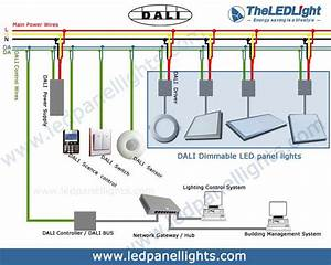 Dali Dimming Led Panel Light    Dali Dimmable