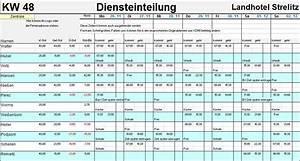 Arbeitsstunden Berechnen Pro Monat : personalplaner dienstpl ne 2018 excel 2016 personaleinteilung ~ Themetempest.com Abrechnung