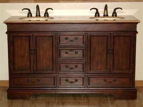 ivory ceramic kitchen sink 60 quot sink cabinet travertine top undermount ivory 4882