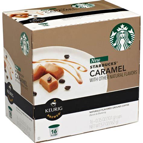1 item added to your list. Starbucks Caramel Coffee Keurig K-cup Single Serves 16 Pk.   Beverages & Coffee   Gifts & Food ...