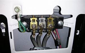 Electrical - Where Does The Ground Wire Go In A 3-prong Dryer Cord Configuration