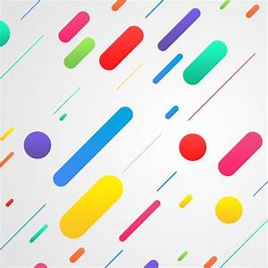 Abstract shapes on white background PSD file Free Download