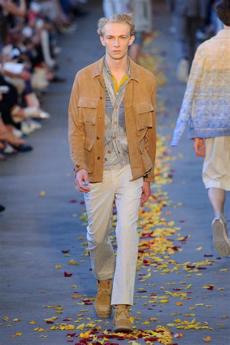 missoni springsummer  menswear collection milan