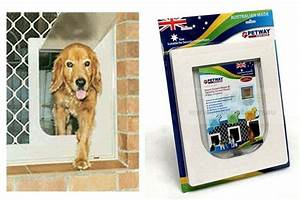 Petway dog doors for sale security fly screens vebo for Dog doors for sale