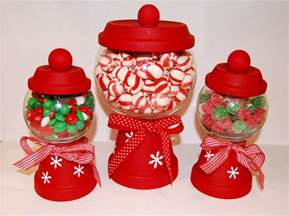 Christmas Candy Holder Craft