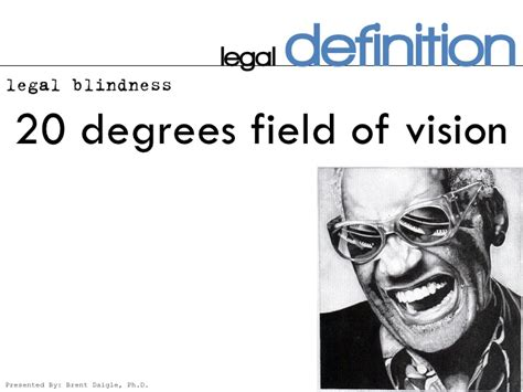definition of legally blind blind low vision