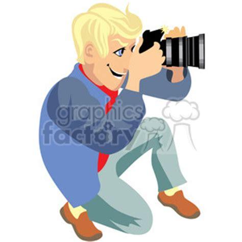 13237 photographer taking a picture clipart royalty free photographer illustration taking photos