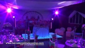 Fiesta Tematica Neon tomorrow land e Invierno 15 años YouTube