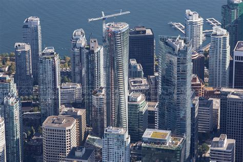 Vancouver Trump Tower Aerial Photo Trump International Hotel Tower Vancouver