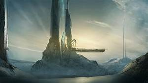 Tower halo deviantart digital art artwork forerunner