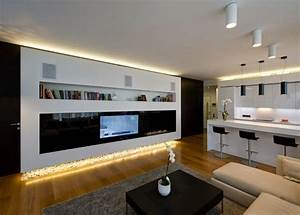 20 catchy indirect lighting ideas for all rooms for Indirect lighting ideas tv wall