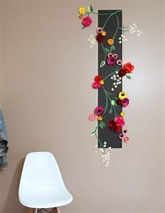 Diy Deco Murale : des fleurs en relief sur mon mur ~ Dode.kayakingforconservation.com Idées de Décoration