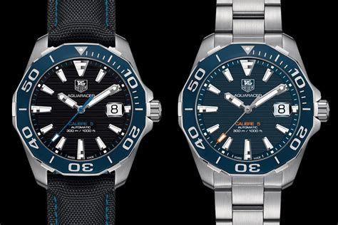 Tag Heuer Fortifies The Aquaracer 300m With A Ceramic