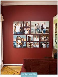 3 Bilder Nebeneinander Aufhängen : diy familienfotos als cluster arrangieren im rahmen ~ Lizthompson.info Haus und Dekorationen