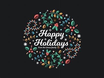 Holidays Happy Christmas Litmus Dribbble Tweet Copy