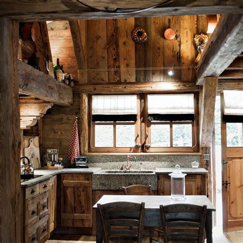 rustic cabin kitchen ideas 40 cozy chalet kitchen designs to get inspired digsdigs