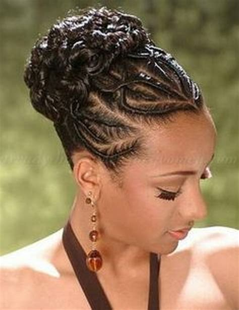 Updos Hairstyles Black Hair by Updo Braid Hairstyles For Black Hair