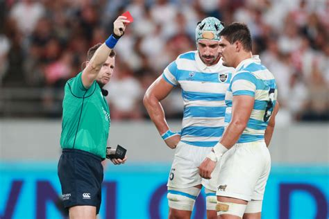 Tomas Lavanini red card ruins Argentina vs England and ...
