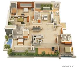 home design 3d modern home 3d floor plans