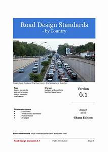 Dubai Road Design Manual Pdf