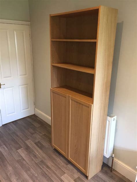 Ikea Bookcase With Doors by Ikea Billy Bookcase With Oxberg Doors In Brislington