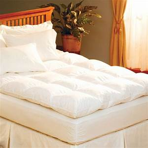 Feather mattress topper review top 3 feather toppers for Best soft mattress pad