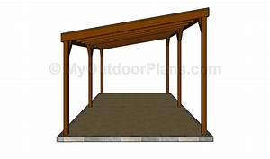 Double carport plans MyOutdoorPlans Free Woodworking