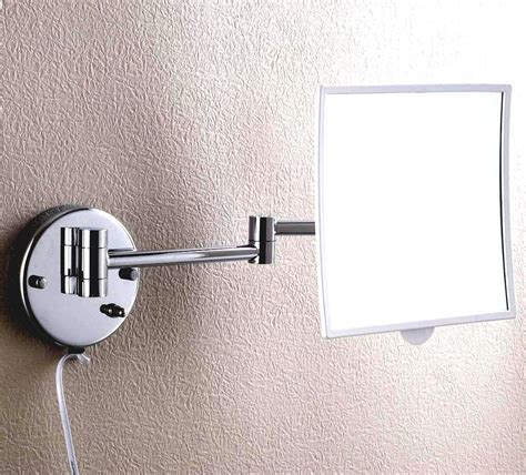 buy the best lighted makeup mirror wall mounted the homy