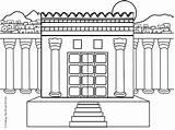 Temple Solomon Coloring Builds Solomons King Sunday Bible Pages Craftingthewordofgod Preschool Crafts Activity Lessons Lesson Templo Salomon Story Temples El sketch template