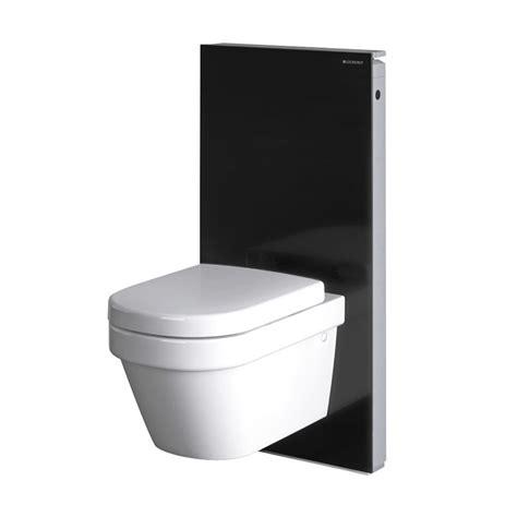 wc suspendu geberit geberit panneau monolith pour wc suspendu noir anjou