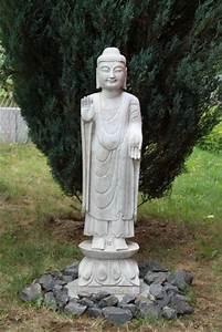 Buddha Statue Im Garten : marmor stein buddha figur skulptur tibet china asien garten statue japangarten ebay ~ Bigdaddyawards.com Haus und Dekorationen