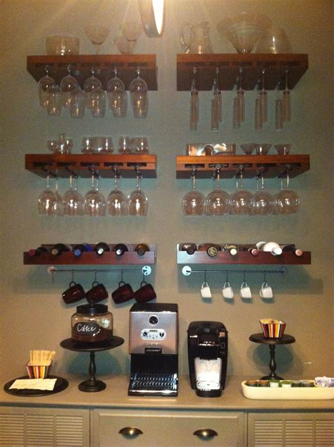 Home Bar Station by Home Bar Coffee Station For Sure Ill Need This In There