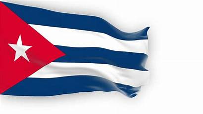 Flag Cuba Background Waving Wind Shutterstock