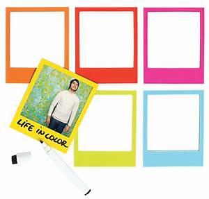 Lot Cadre Photo : cadre photo color polaframe aimant lot de 6 multicolore doiy ~ Teatrodelosmanantiales.com Idées de Décoration