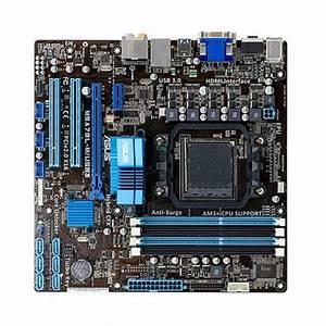 Asus M5a78l Usb3 Am3  Amd 760g Usb 3 0 Micro Atx Motherboard