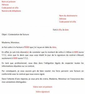 Lettre Pour Contester Une Amende : contester une facture lettre type vraiment pas cher ~ Medecine-chirurgie-esthetiques.com Avis de Voitures