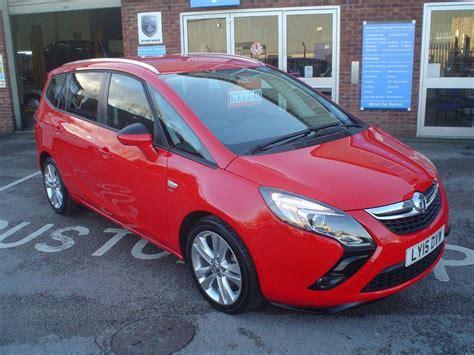 Used Power Red Vauxhall Zafira Tourer For Sale Devon