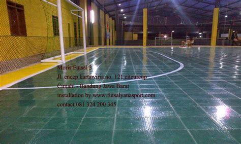 Interlock Floring Futsal Lantai interlock flooring multi fungsi untuk lantai lapangan