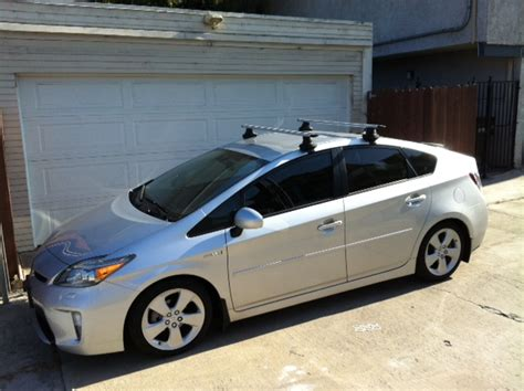 prius roof rack for thule aeroblade roof rack for 2010 2015 prius
