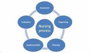 2  Illustration Showing The Nursing Process  Illustration