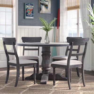 grey kitchen dining room sets youll love wayfair