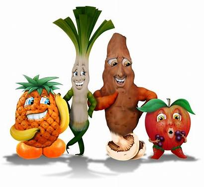 Fruit Vegetables Cartoon Vegetable Mixed Fruits Veg
