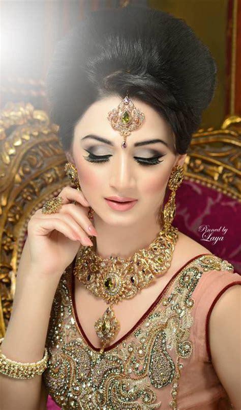 Pakistani Latest Bridal Wonderful Makeup Ideas 201617