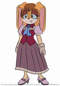 Learn How to Draw Vanilla the Rabbit from Sonic X (Sonic X ...