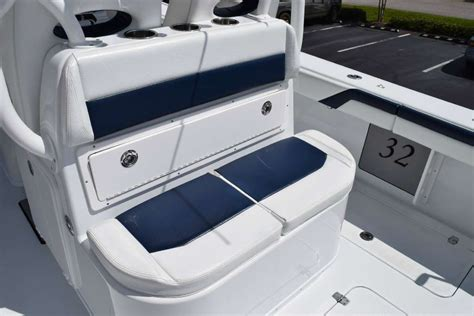 Lebroc Boat Chairs by Pre Owned 2015 Yellowfin 32 W Yamaha F350 S The